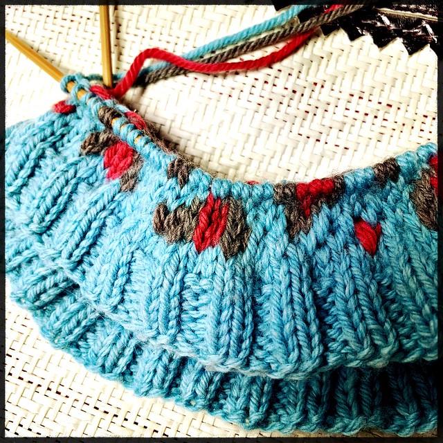 Leopard Spot Knit Hat