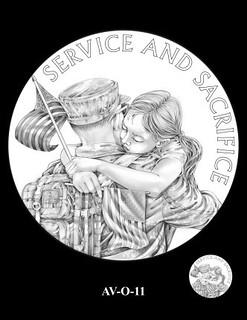 American Veterans Obverse 11