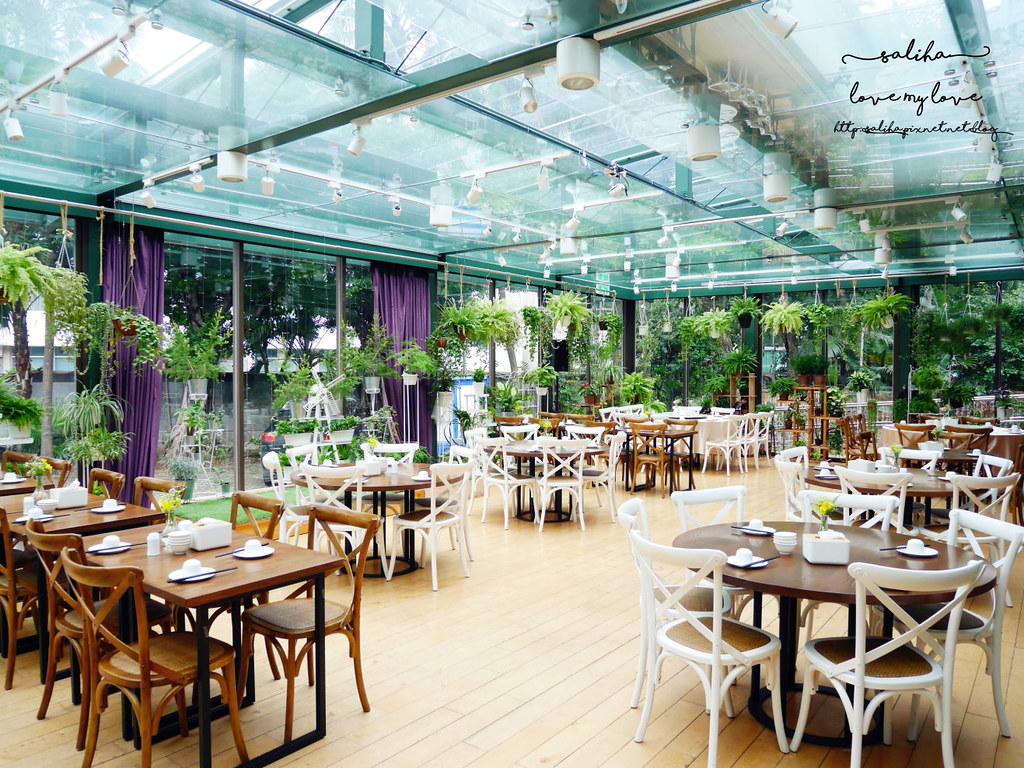 台北古亭站附近絕美玻璃屋植物系浪漫約會餐廳推薦陸聯廳 (2)