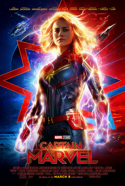 Captain Marvel Powers Up In Second Trailer