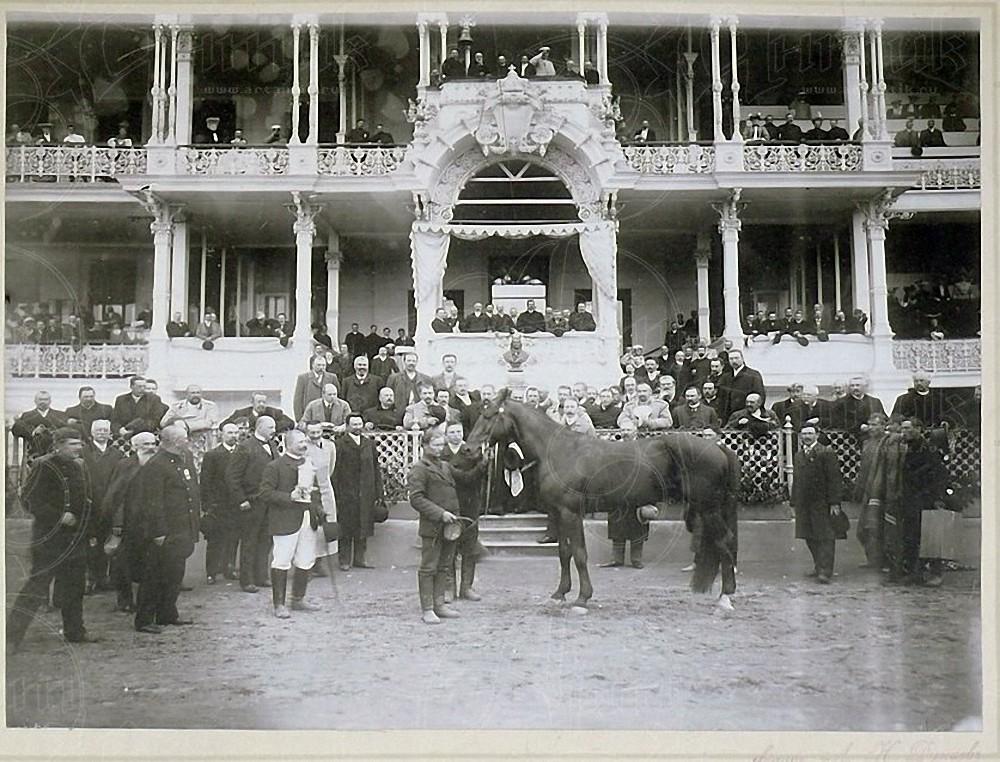 1905. Московский ипподром. Жеребец Маг