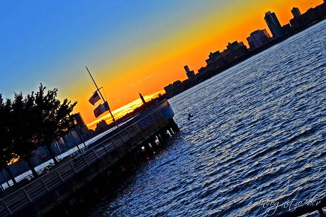 Pier 51 Hudson River, Nikon D3100, AF Nikkor 28mm f/1.4D