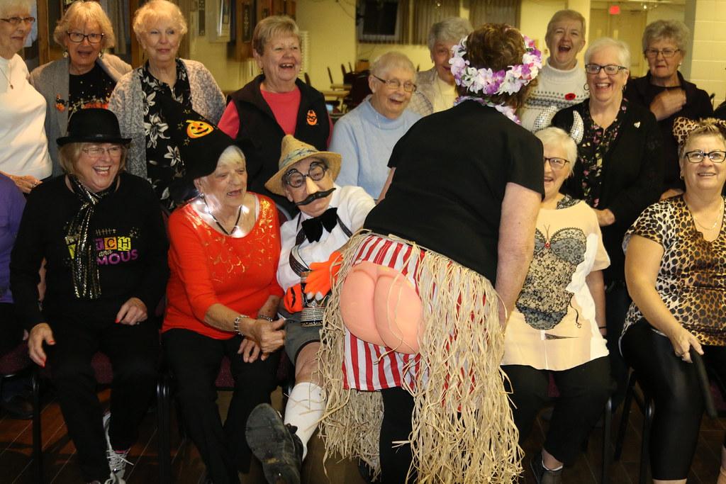 Retirees Halloween Social 2018