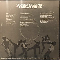 CHARLES EARLAND:THE DYNAMITE BROTHERS(ORIGINAL MOTION PICTURE SOUNDTRACK RECORDING)(JACKET B)
