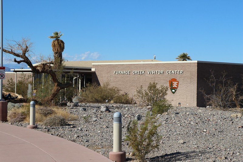 We paid our fees and checked out the museum at the Furnace Creek Visitor Center in Death Valley