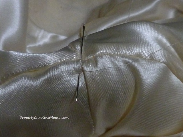 How to Re-line a Coat at FromMyCarolinaHome.com