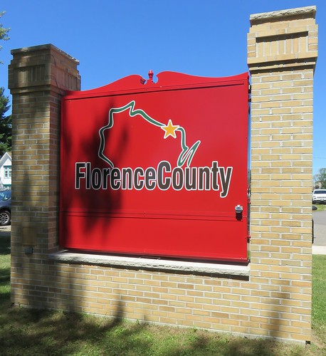 Florence County Sign (Florence, Wisconsin)
