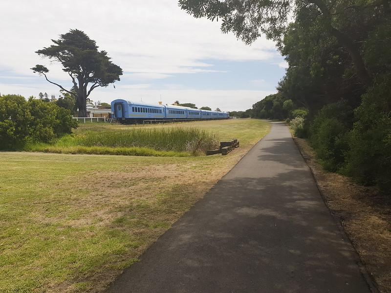 2.5 km rail trail