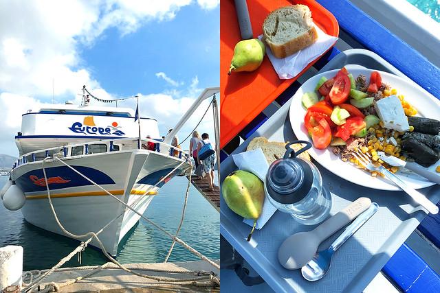 Mirabello Bay cruise