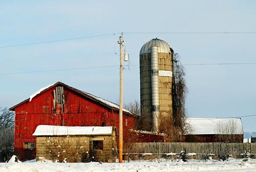 Farm north of Genoa City, Wisconsin