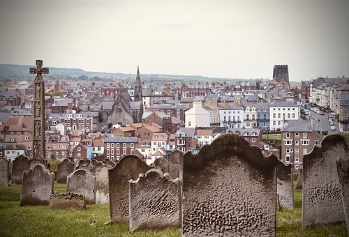 Whitby from the church