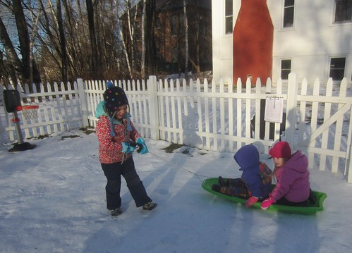 afternoon sled ride