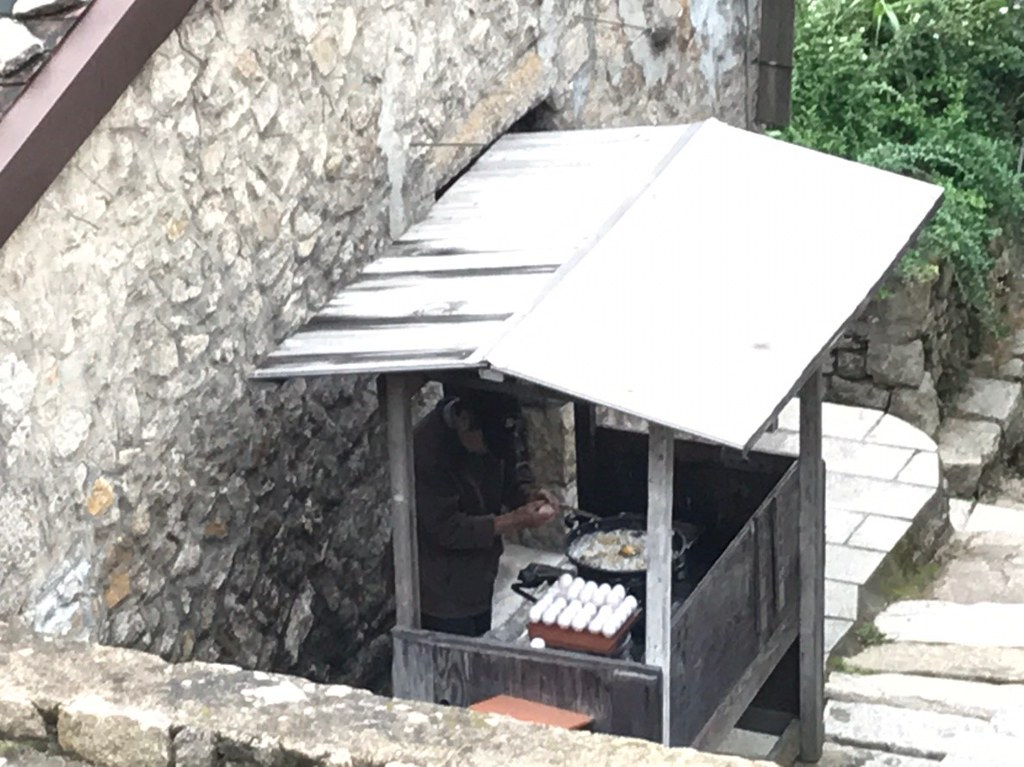 20181207馬祖北竿芹壁村鏡沃小吃後門