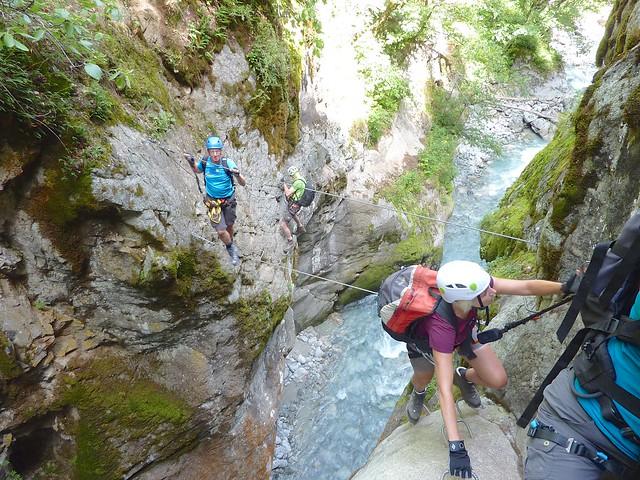Klettersteigen Écrins