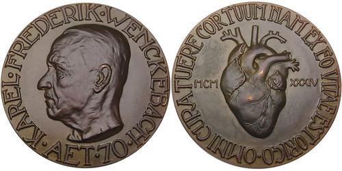 Karel Frederik Wenkenbach bronze Medal.