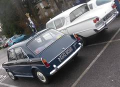 Wolseley 1100 (1966) & Ford Consul Classic (1961)