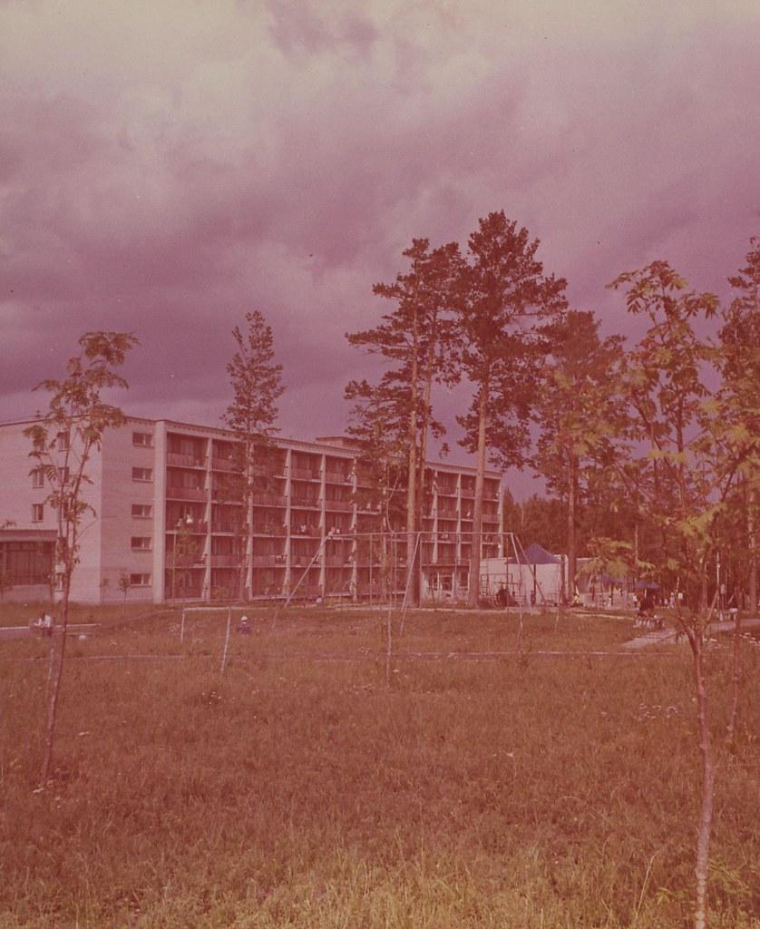 Челябинская область. Дом отдыха «Карагайский бор». Спальный корпус