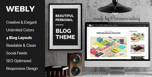 Webly v1.4 – WordPress Blog Theme