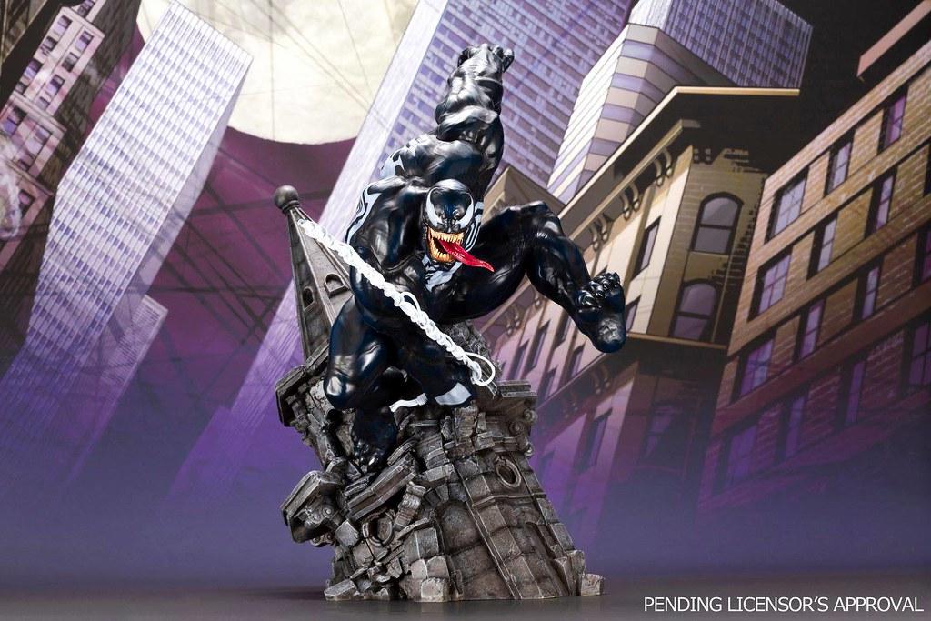 漆黑的暴亂身影!! 壽屋 ARTFX 系列 Marvel Universe【猛毒】ヴェノム 1/6 比例全身雕像作品