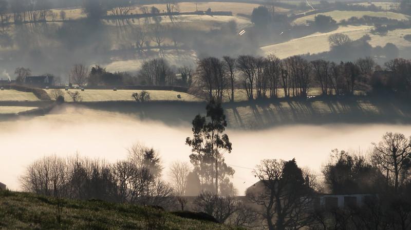 Mist over Moretonhampstead