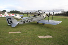 G-AGHY de Havilland DH-82A [82292] Popham 010119