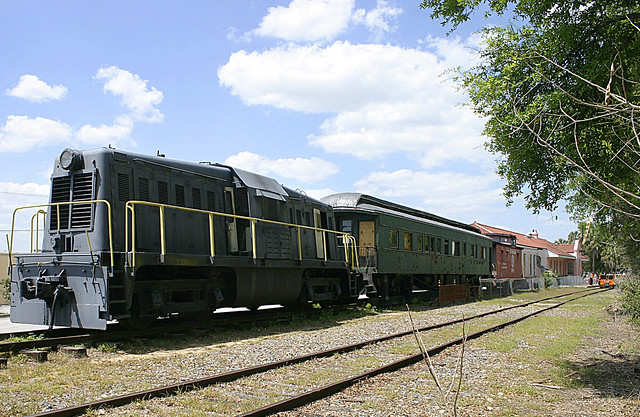 Centercab Switcher, Lake Wales Depot Museum (2 of 3)