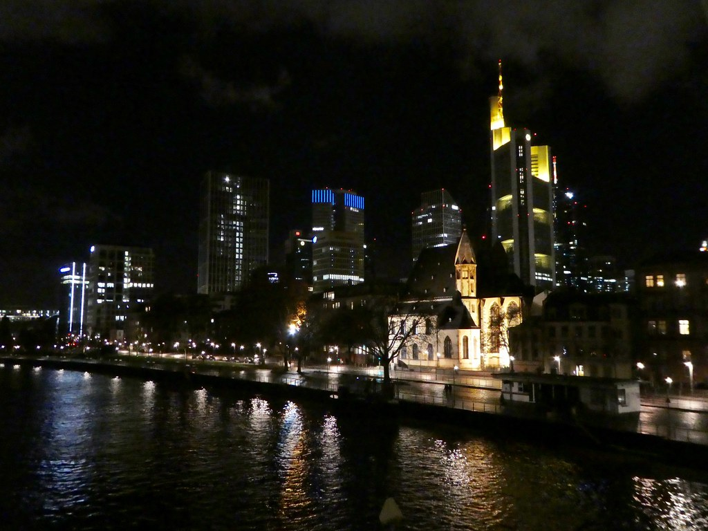 The Frankfurt skyline