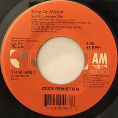 CECE PENISTON:I'M IN THE MOOD(LABEL SIDE-B)