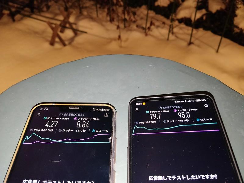 TP-Link Deco M9 Plus スピードテスト (3)