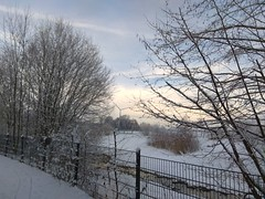 31. Januar 2019 - 9:57 - Winterspaziergang in Roxel am 31. Januar 2019.