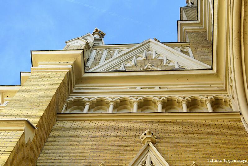 Фрагмент центрального фасада
