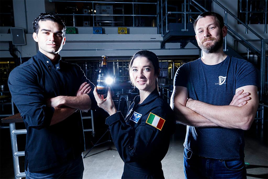 Guinness разработает космическое пиво