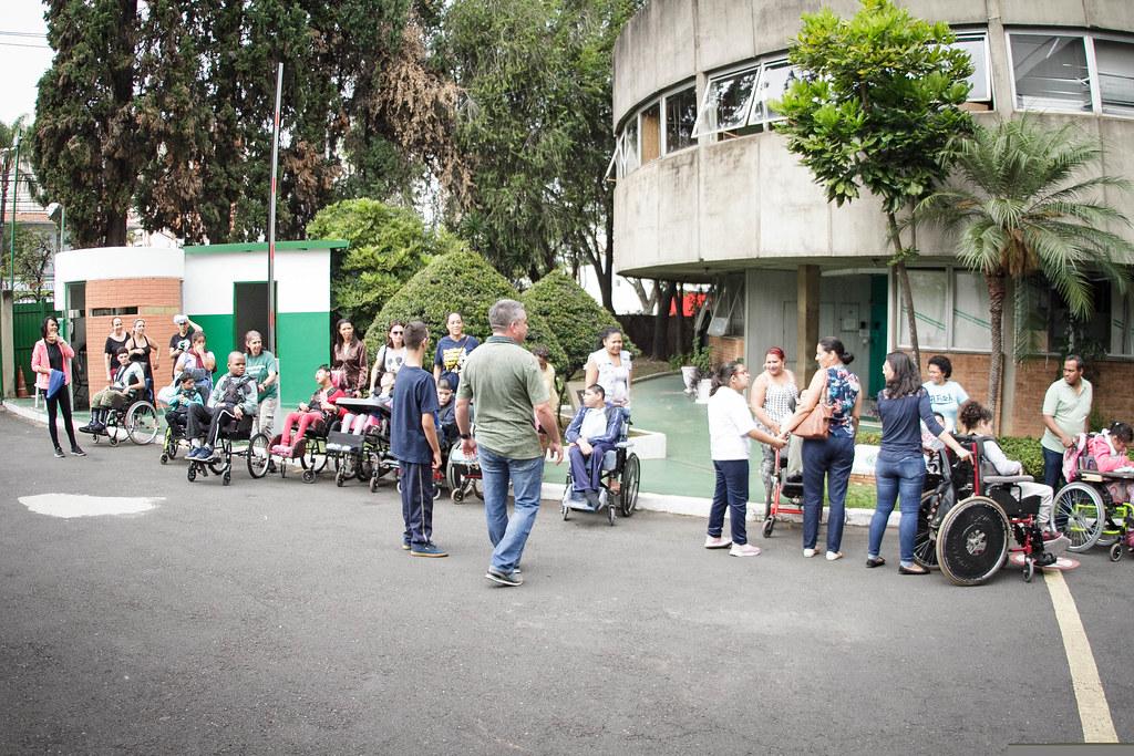 Visita - Associação Pestalozzi de Campinas