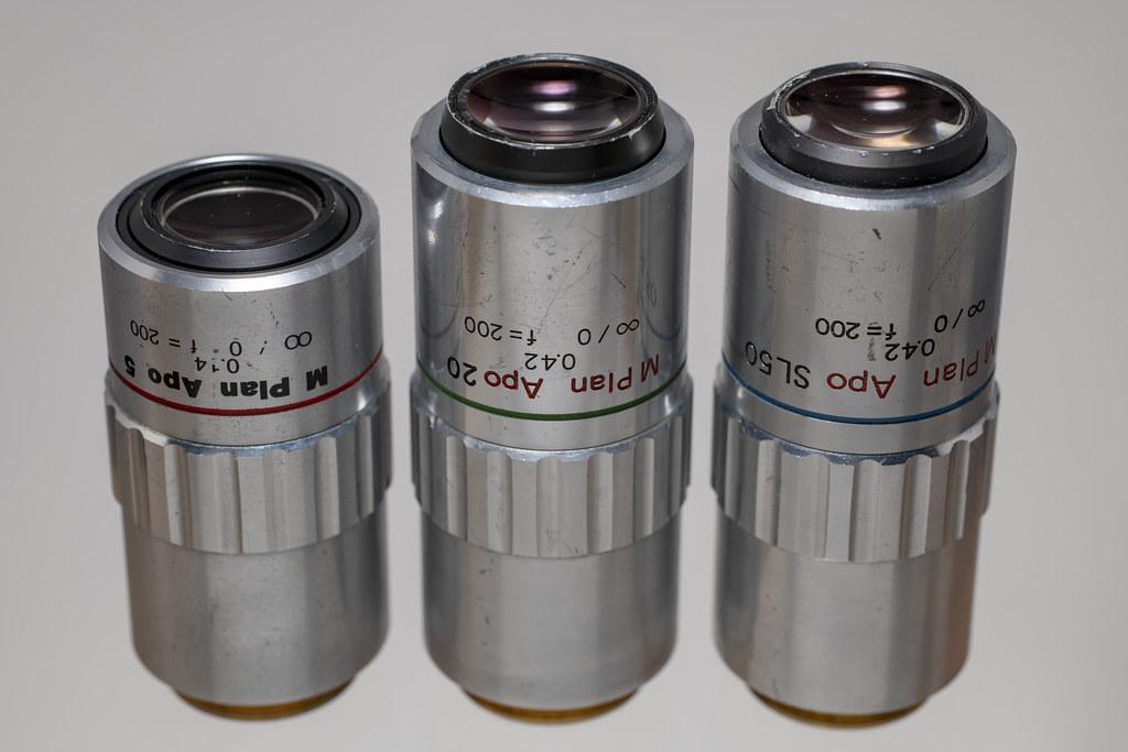 MITUTOYO Object Lens 『M PLAN APO』