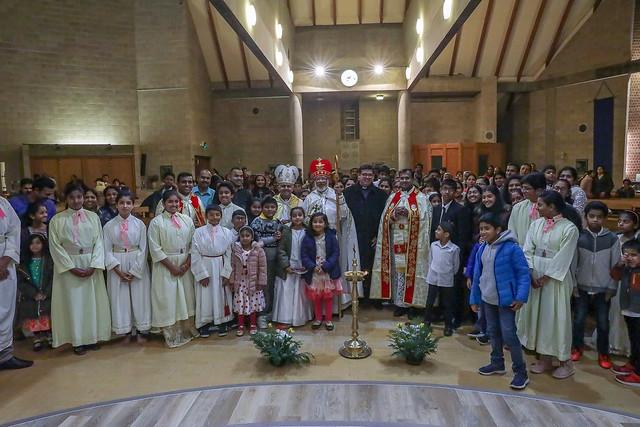 Visit of the Major Archbishop His Beatitude Mar George Cardinal Alencherry