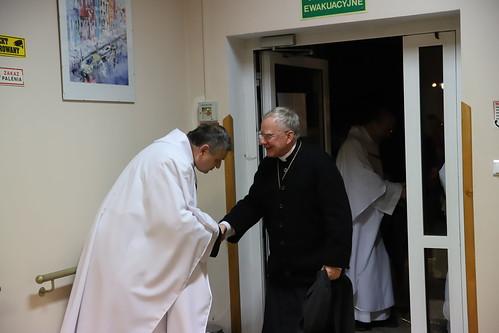 Poświęcenie kaplicy oraz wizyta w ośrodku Caritas w Zembrzycach | Abp Marek Jędraszewski, 4.12.2018