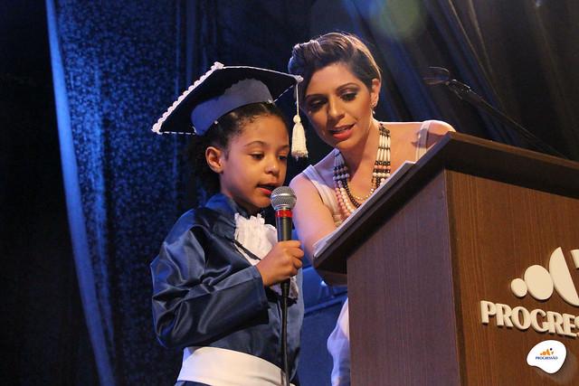 Formatura da Educação Infantil e do Ensino Fundamental I