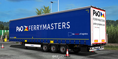 P&O Ferrymasters skin for Krone Megaliner [ETS2]