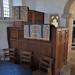 035-20180927_Great Washbourne Church-Gloucestershire-Nave, NE corner-Reading Desk & Pulpit