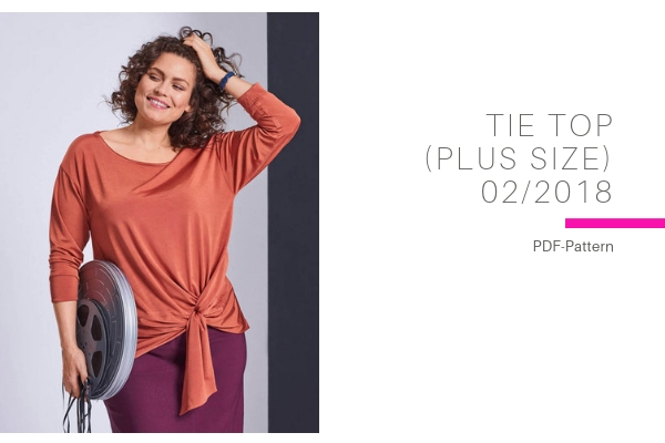 Tie Top Plus Size