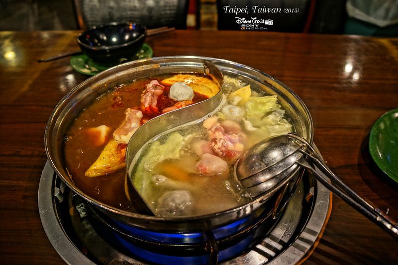 2015 Taiwan Taipei Ximending Mala Hot Pot 2