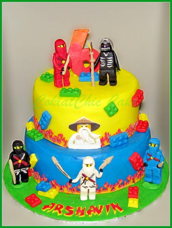 Cake Ninjago ARSHAVIN 24 / 20