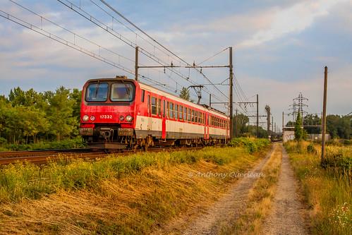 02 juillet 2013 z 7332 Train 866705 Bordeaux-St-Jean -> Langon Saint-Médard-d'Eyrans (33)