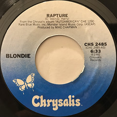 BLONDIE:RAPTURE(LABEL SIDE-A)