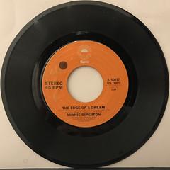 MINNIE RIPERTON:LOVIN' YOU(RECORD SIDE-B)