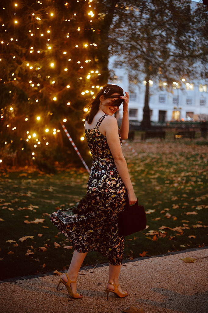 FINERY LONDON PALOMA DRESS | LONDON FASHION BLOGGER