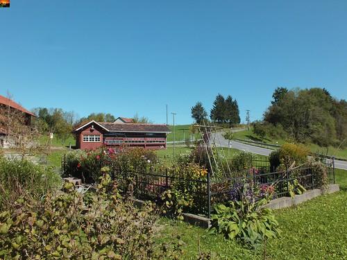 Am Heimathaus Gestratz im Allgäu