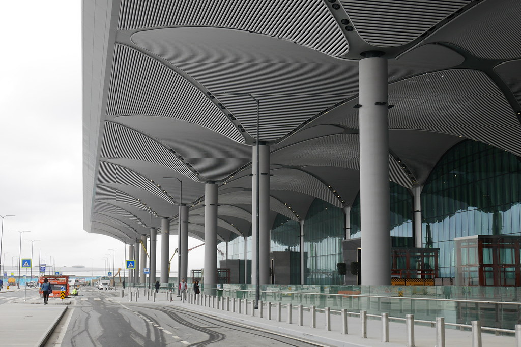 伊斯坦堡新机场Istanbul New Airport外观