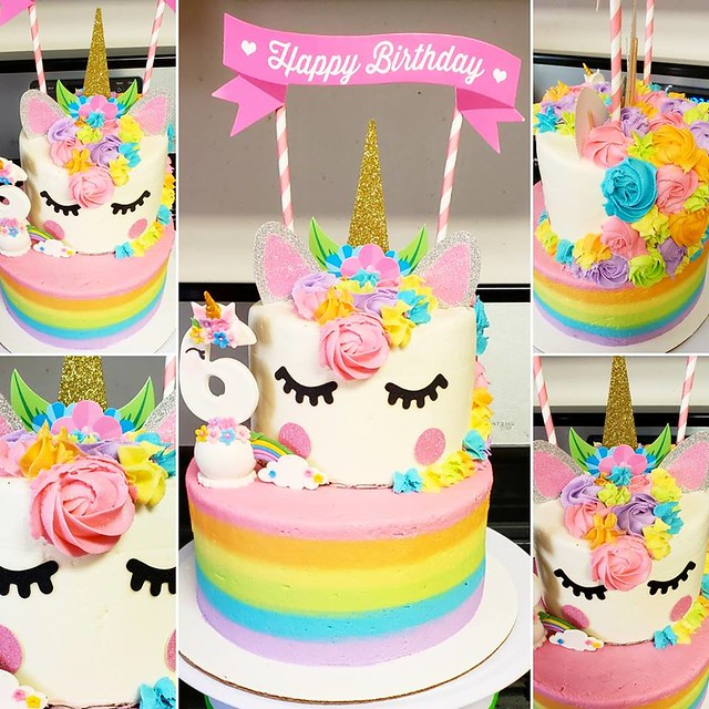 Unicorn Cake by Strawbabies