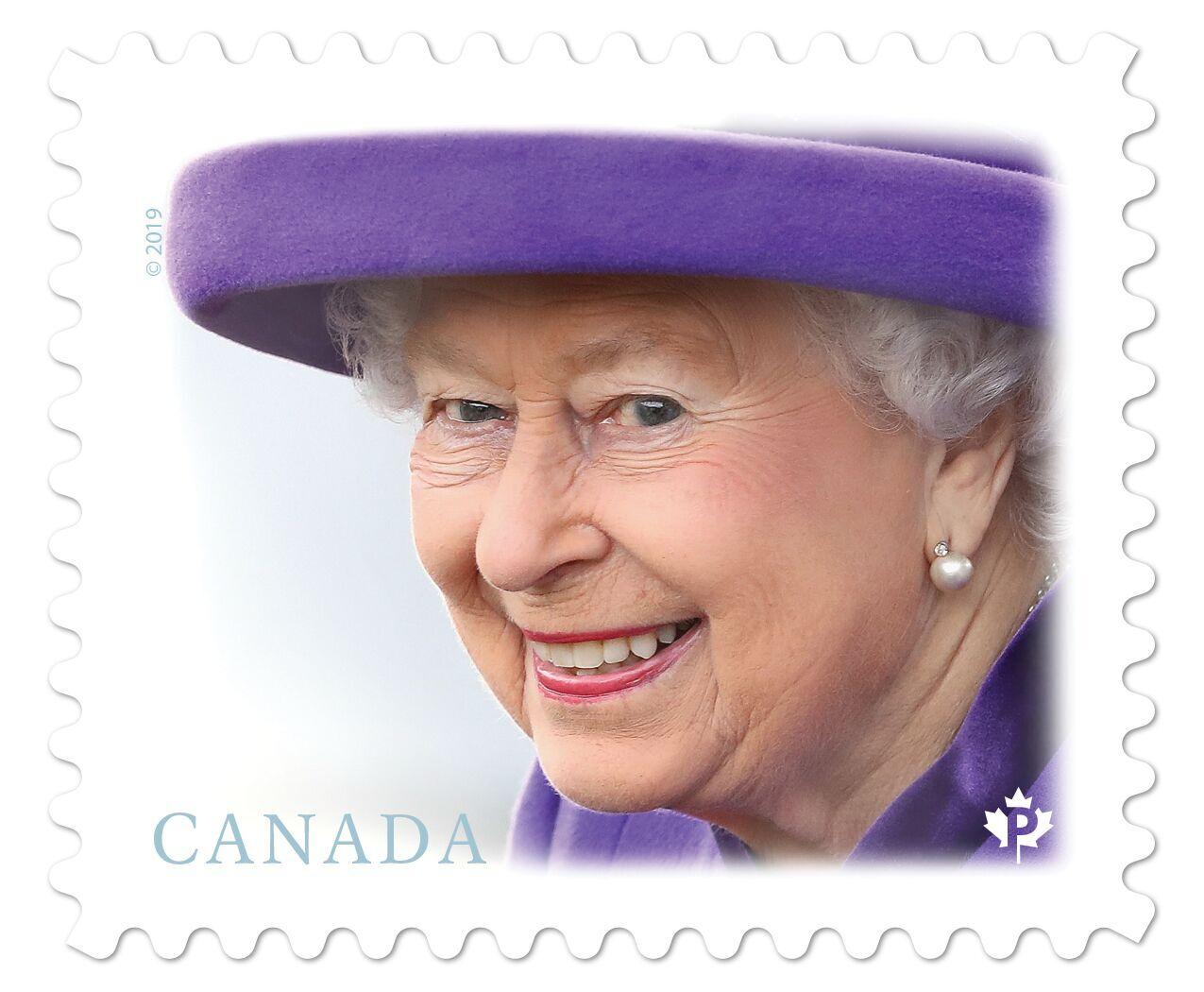 Canada - Queen Elizabeth II definitive stamp (January 14, 2019)